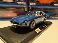 1971 Datsun 240Z 1/18 Scale Maisto Special Edition. Blue - New In The Box