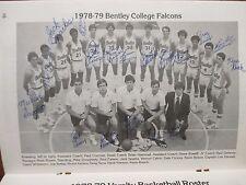 1978 Bentley College Men Basketball Media Guide(18 Sign/BRIAN HAMMEL/LOU GERVAIS