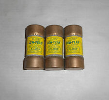 Lot Of 3 Bussmann Buss LPJ-40SP Low-Peak Dual-Element Time-Delay Fuse 40A New NB