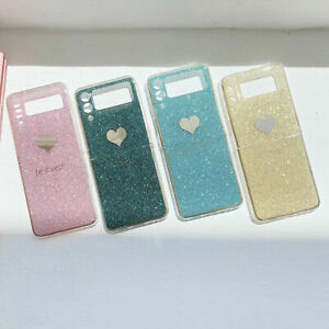 For Samsung Galaxy Z Flip 3 5G, Luxury Bling Fashion Plating Frame Cover Case