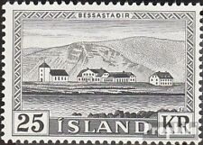 Iceland 319 (complete issue) unmounted mint / never hinged 1957 Postage stamp: B