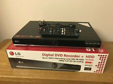 LG RHT599H Digital DVD Recorder + HDD With Freeview+ 1080P 500GB Boxed