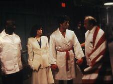 "TALIA SHIRE & SYLVESTER STALLONE in ""Rocky IV"" -Original Vintage 35mm Slide 1985"