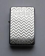 TWIN PEAKS - chrome petrol lighter -------------- [Cd:971.mc-42-lP.] mini poster