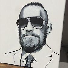 ORIGINAL PAINTING 'The Notorious' Conor McGregor UFC - ART