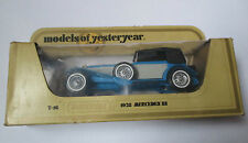 Voiture miniature / Mercedes SS 1928 (matchbox Y-16 1978 models of yesterday)