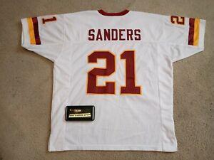 2005 2000 Washington Redskins Deion Sanders Authentic Road Jersey Sz XXL 2XL NEW