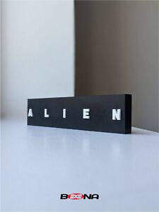 Decorative ALIEN movie self standing logo display
