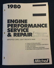 Mitchell Engine Service Repair Manual Imported Cars Trucks Bmw Jaguar Audi 1980