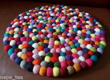 Size 40 cm Pom Pom Felt Balls coaster Tea Mat Dining Table Pad Home decor