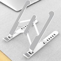 Adjustable Foldable Portable Aluminum Laptop Tablet Stand Desktop Holder Mounts