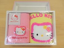 NEW Hello Kitty towel 2 set Sanrio cotton 100% cute kawaii NIB F/S Imabari