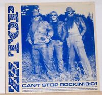 ZZ TOP - Can't Stop Rockin'  3:01 - Promo - 12 inch Single Record - 1985