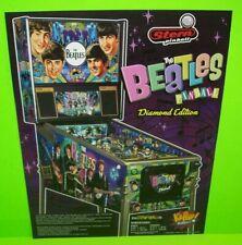 The Beatles DIAMOND Edition Pinball Machine FLYER Beatlemania John Lennon RARE