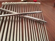 "22pcs 11size 14"" 36cm stainless Single Pointed Knitting Needles"