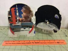 National Geographic NASA space helmet micro machine set FREE insured Shipping!