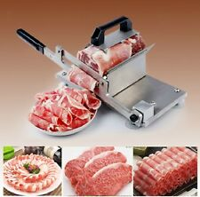 Hot sell stainless steel manual slicer mutton roll beef meat slicer