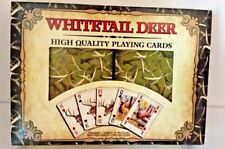 Whitetail Deer High Quality Playing Cards Poker Texas Hold'em Solitaire set of 2
