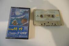 BONEY M . 79 OCEANS OF FANTASY. K7 AUDIO TAPE CASSETTE GMR SINGAPORE PRESS.