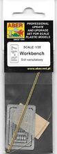 Aber Workbench Wood Photoetch Diorama WW II Model Kit Tools Metal R17
