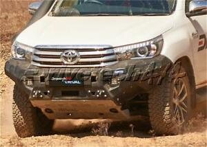 Drivetech 4x4 by RIVAL Aluminium Bumper fits Toyota Hilux GUN126R DT-2D57011B...