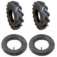 Troy-Bilt/MTD Tiller Tires 4.80/4.00-8 Set of 2 (Part # 1234-1) with Two Tubes