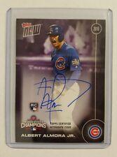 Albert Almora Jr 2016 Topps Now World Series Championship Set - #d/49 - RC -Cubs