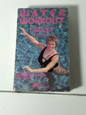 Water Workout-Betamax-Olympic Gold Medalist Cindy Costie-1985-Aerobics, fitness