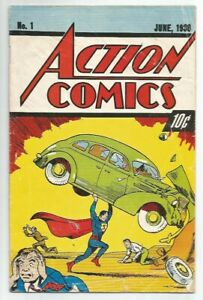 Action Comics 1 - 1992 Reprint - See Pictures!!!