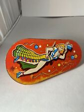 Vintage Us Metal Toys Tin Litho Spinner Party Noise Maker