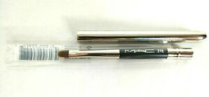 Mac Brush 316 Lip Brush💯Authentic Discontinued Version Made Of Natural Hair