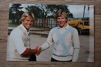 Original 1980s Speedway Photograph Rick Miller & Bruce Penhall - USA