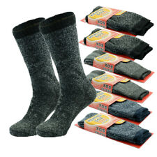 3 Pairs Mens Winter Heavy Duty Heated Sox Thermal Insulated Boots Socks 9-13