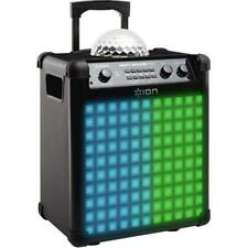 Ion Bluetooth Audio Party Rocker Max with Built-In Light Show IPA73 Black (Refur