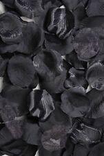 100 Loose Artificial Rose Petals  Black B141