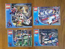 [NOTICES UNIQUEMENT] Lot de notices Lego Spider-man (ancienne gamme) !