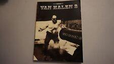Van Halen VH 3 Electric Guitar Tablature Tab Book Warner Brothers