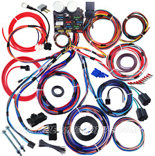 UNIVERSAL 12-CIRCUIT FULL CAR WIRE HARNESS - HOT ROD GM HOLDEN CHEV FORD WILLYS