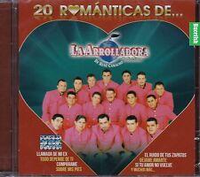 La Arrolladora Banda El Limon De Rene Camacho 20 Romanticas CD New Nuevo Sealed