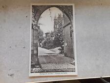 Zwischenkriegszeit (1918-39) Echtfoto mit Burg & Schloss für Architektur/Bauwerk
