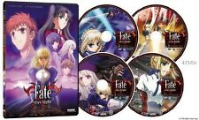 Fate/Stay Night : Complete (DVD Eps 1-24 4-Disc) Anime Lot R1 Holy Grail