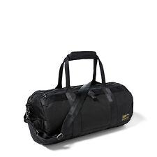 Polo Ralph Lauren Military Nylon Duffel Duffle Bag Black & Camo New $298