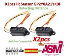 2pcs IR Sensor GP2Y0A21YK0F Measuring Detecting Distance Sensor 10 to 80cm