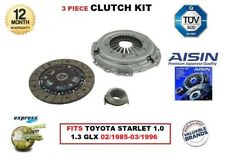 FOR TOYOTA STARLET 1.0 1.3 GLX 02/1985-03/1996 AISIN OE QUALITY CLUTCH KIT