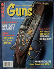 Magazine *GUNS* Sep 1980 FIGHTING KNIVES for Combatant & Collector, S&W Model 41