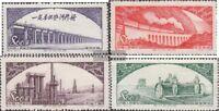 Volksrepublik China 188-191 (kompl.Ausg.) gestempelt 1952 Mutterland