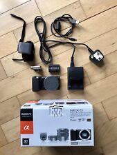 SONY alpha NEX-5 Black Digital 14.2MP 1080 FULL HD Camera Body + Box