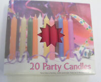 """Lot of 20 Chime Spell Candles: Dark Red, Mini 4"""" Wicca, Altar, Ritual"""