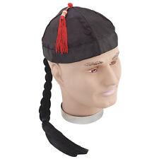 # Chinois chapeau avec couette Déguisement Adulte