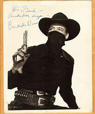 Charles Starrett-signed photo-26 b - This is a Vintage Photo! - JSA COA